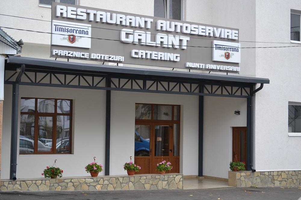 Autoservire Falticeni, Restaurant Autoservire Galant